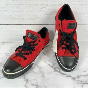 NWT Converse CTAS Low Top Red/Black